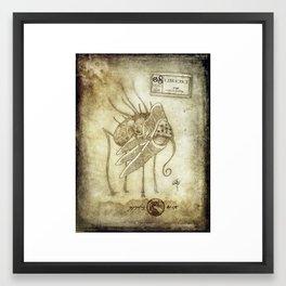 Bestiary 08 Framed Art Print