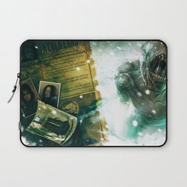 Numb Book 1 Zombie Concept 1 Laptop Sleeve