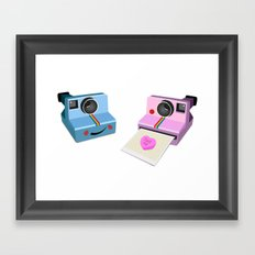 flash me Framed Art Print