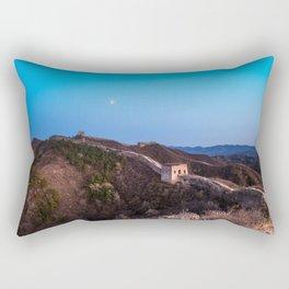 The Great Wall Moon Rectangular Pillow