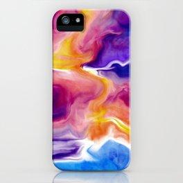 Vibrant Clouds iPhone Case