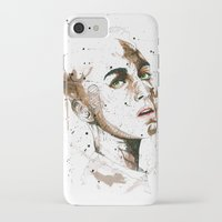 jasmine iPhone & iPod Cases featuring Jasmine by Maurice Zombie