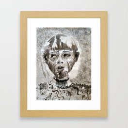 Josie Smith Self Portrait Framed Art Print