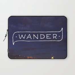 Not all those who wander are lost // #TravelSeries Laptop Sleeve