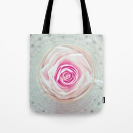 A Cup Of Rose Tote Bag