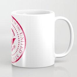 Presedent Seal Ruber Stamp Coffee Mug