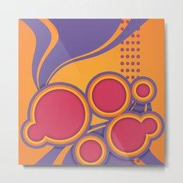 Ultra Violet ATTITUDE Metal Print