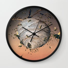 Paper Makers Wall Clock