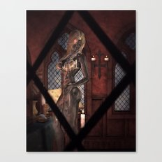 Peeping Tom's Surprise Canvas Print