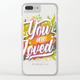 LOVED Clear iPhone Case