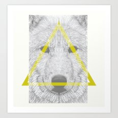 WOLF III Art Print