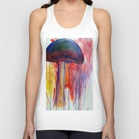 mushrooms Tank Tops featuring Mushrooms by Lynnea Pennington