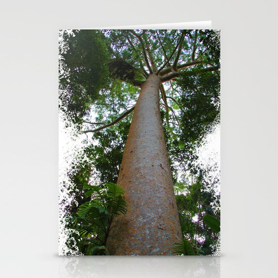 not just another tree Stationery Cards