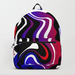 Hot and Cold marble Backpack