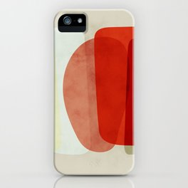 shapes modern abstract iPhone Case