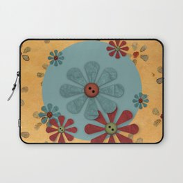 Country Flowers Laptop Sleeve