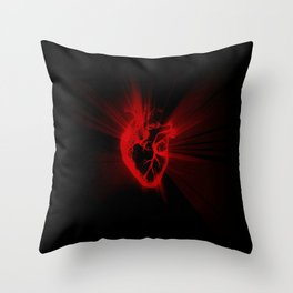 heart light Throw Pillow