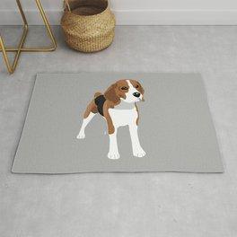 Beagle - Grey Rug