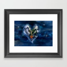 Save our World 18  Framed Art Print
