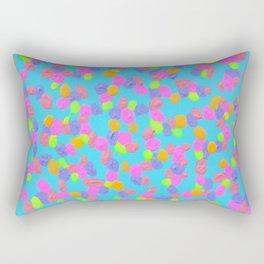 Spring Colors Drip Abstract Art Rectangular Pillow