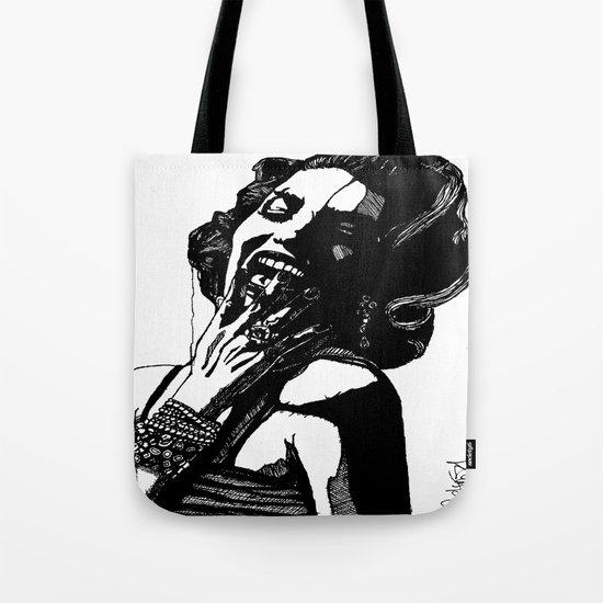 B&W Fashion Illustration - Part 2 Tote Bag