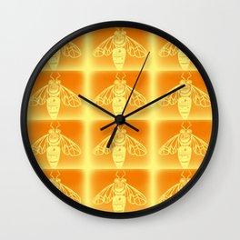 Bee Hive Wall Clock