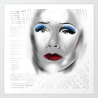 hedwig Art Prints featuring Hedwig by aesthetic_vampy