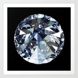 Diamond is Forever Art Print