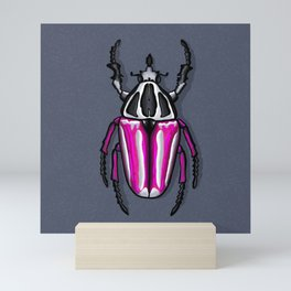 Goliath Beetle Mini Art Print