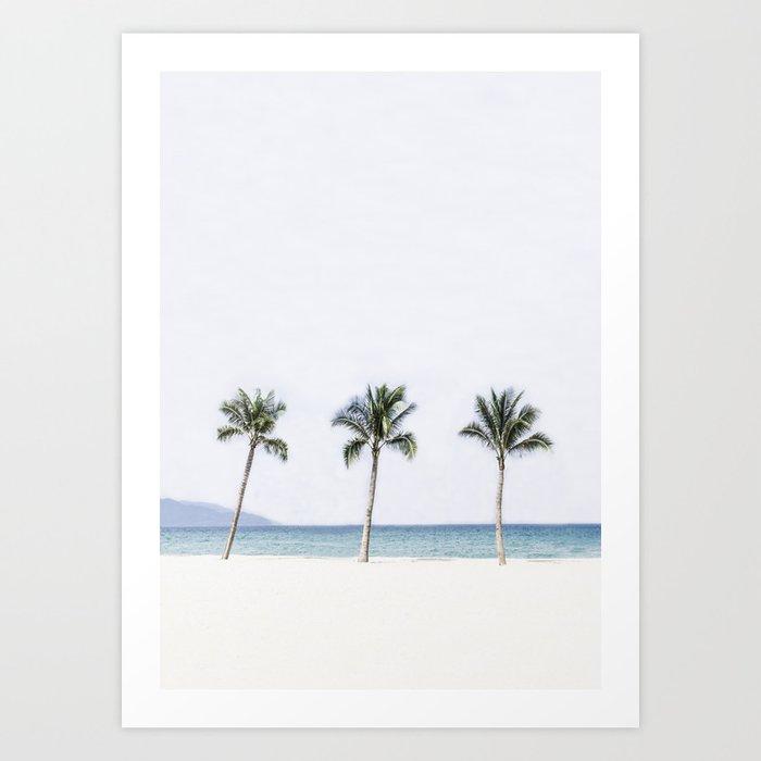 Palm trees 6 Kunstdrucke