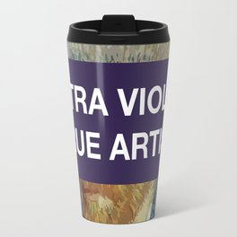 Ultra Violet True Artist Graphic Design Art Travel Mug