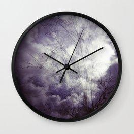 Lomographic Sky 1 Wall Clock