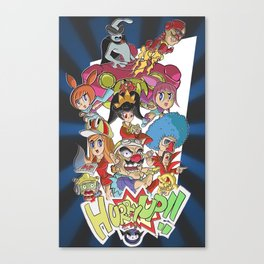 Warioware: Touched! Canvas Print