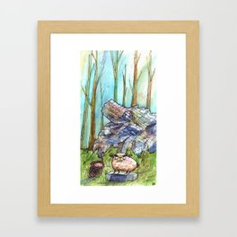 Great and Mighty Kings Framed Art Print