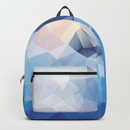 Iceberg Polygon Art Backpack