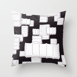 Starches In The Sky Throw Pillow
