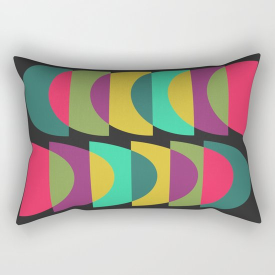 What Color Is The Moon? Rectangular Pillow