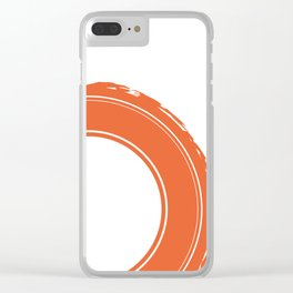 That Old Tire Clear iPhone Case