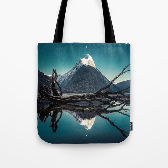 Blue Mountain #landscape Tote Bag