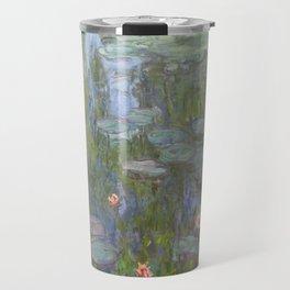 Claude Monet's Water Lilies Travel Mug