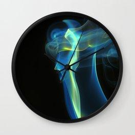 Blue Doris Wall Clock