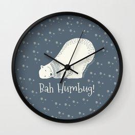 Bah humbug! - Ebenezer Scrooge Wall Clock