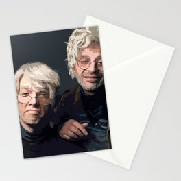 Gil Faizon and George St. Geegland Stationery Cards