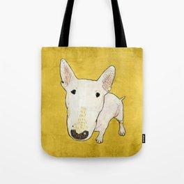 English Bull Terrier pop art Tote Bag