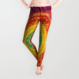 Eye of the Chakra Storm Leggings