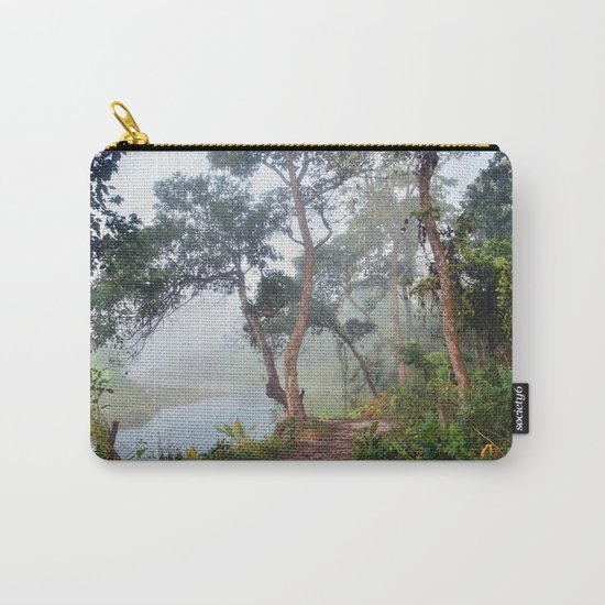 Jungle in Royal Chitwan National Park, Nepal. Carry-All Pouch
