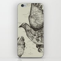 wanderlust iPhone & iPod Skins featuring Wanderlust by Tobe Fonseca