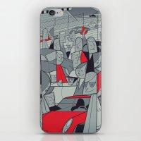 porsche iPhone & iPod Skins featuring Porsche Racing by Ale Giorgini
