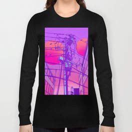 Anime Wires Long Sleeve T-shirt
