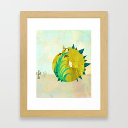 Spiny Albarillo (Bewundering World of Bewilderbeests) Framed Art Print